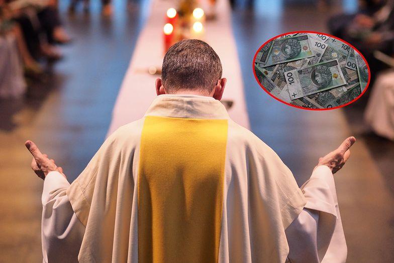 Księża też płacą podatki. Ale takie, że można im tylko zazdrościć