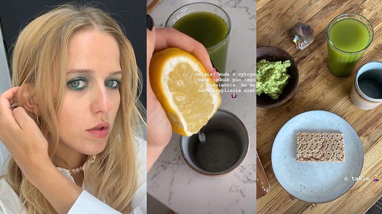 """Jessica Mercedes pokazuje, co je na """"diecie Adele"""": """"Nie będę jednak PIĆ TEGO OCTU"""""""