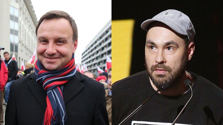 """Jakub Żulczyk masakruje homofobiczną """"Kartę Rodziny"""" Andrzeja Dudy: """"GŁUPIE, PRZYKRE I NIELUDZKIE"""""""