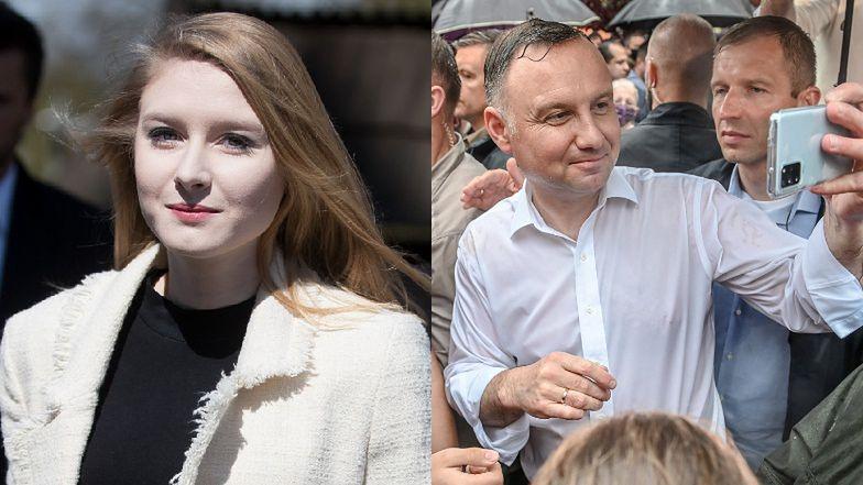 """Andrzej Duda o córce: """"Do dzisiaj mamy RÓŻNE ZDANIA w wielu sprawach"""""""