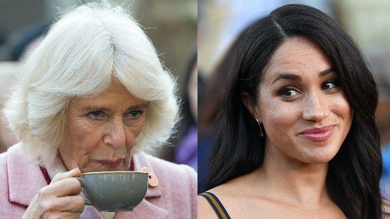 """Camilla """"JEST WŚCIEKŁA"""" na Meghan Markle, bo PRZYĆMIŁA jej wystąpienie..."""