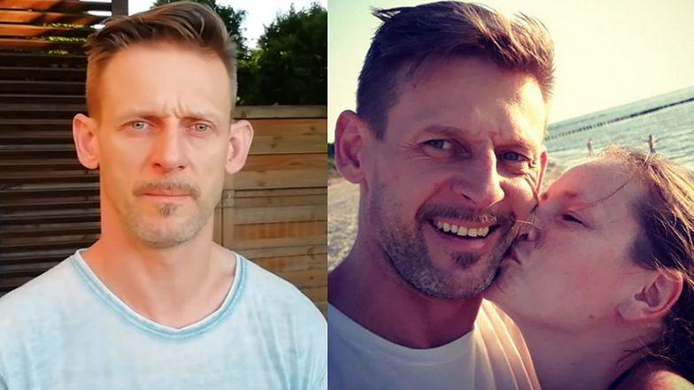 """Michał Wójcik z Ani Mru-Mru prosi o pomoc dla chorej na nowotwór ukochanej: """"Liczy się każda chwila i każdy grosz"""""""