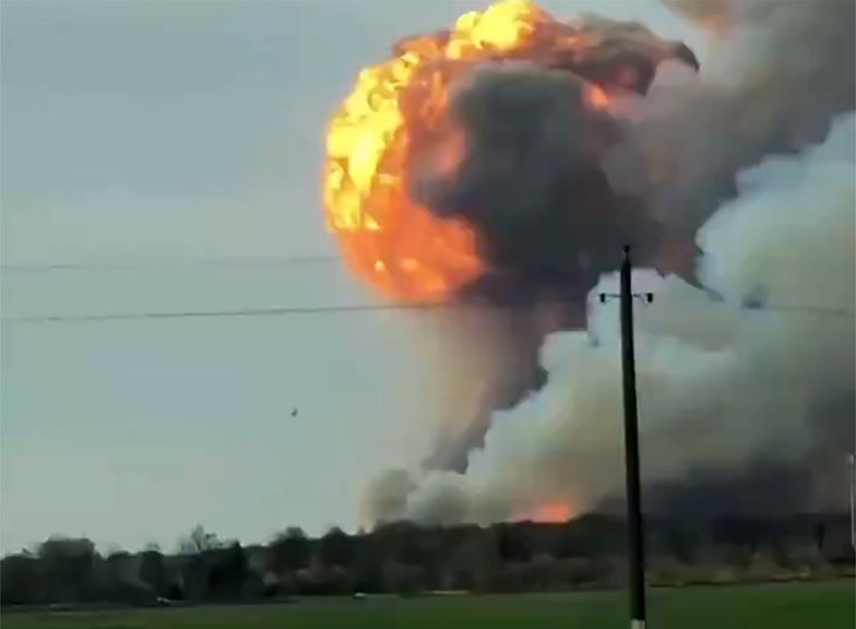 Rosja. Wybuch w składzie amunicji. Ewakuacja okolicznych wiosek
