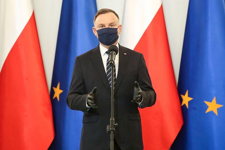 Gdyby wybory odbyły się teraz, Andrzej Duda nie wygrałby w I turze
