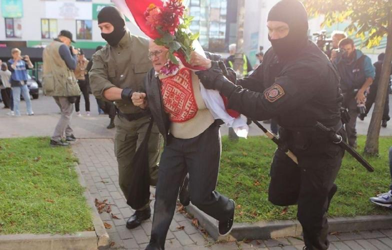 Akcja OMON-u. Porażające nagranie z  Białorusi