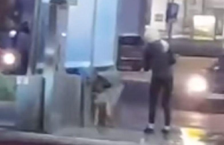 Właścicielka psa uciekła przed przyjazdem policji