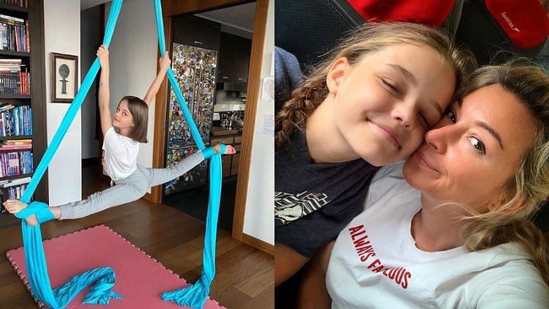 """Martyna Wojciechowska prezentuje powietrzne akrobacje córki: """"Powiedziała, że mnie też nauczy. Nie wiem, jak to się skończy"""" (FOTO)"""