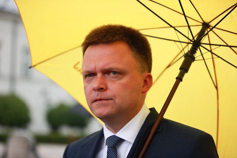Zaskakująca deklaracja Szymona Hołowni. Komu przekaże głosy, jeśli nie wejdzie do drugiej tury?