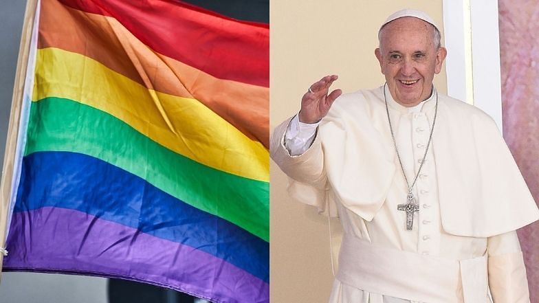 """Papież Franciszek wspiera związki partnerskie osób homoseksualnych: """"Są dziećmi Boga i MAJĄ PRAWO do życia w rodzinie"""""""