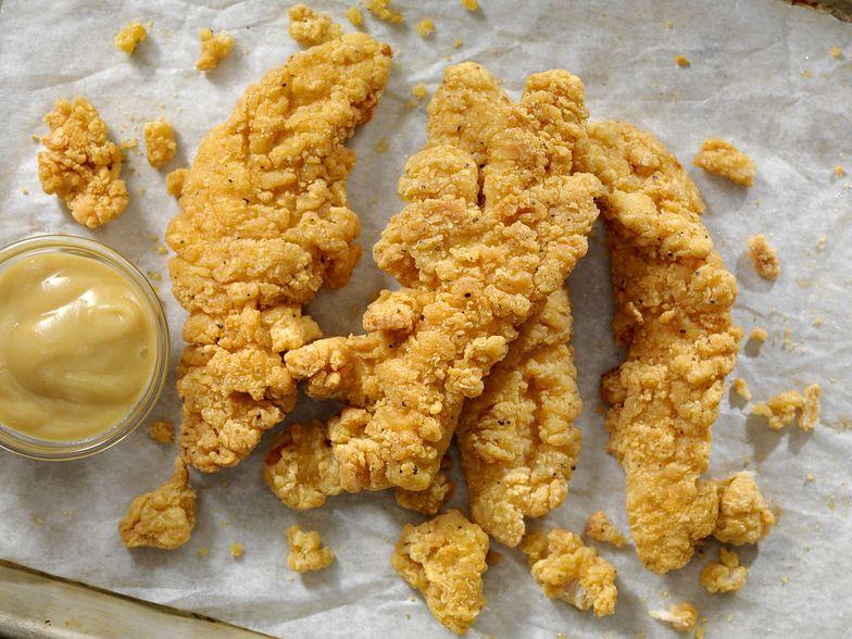 Nuggetsy bez kurczaka. Główny składnik jest smaczniejszy od mięsa