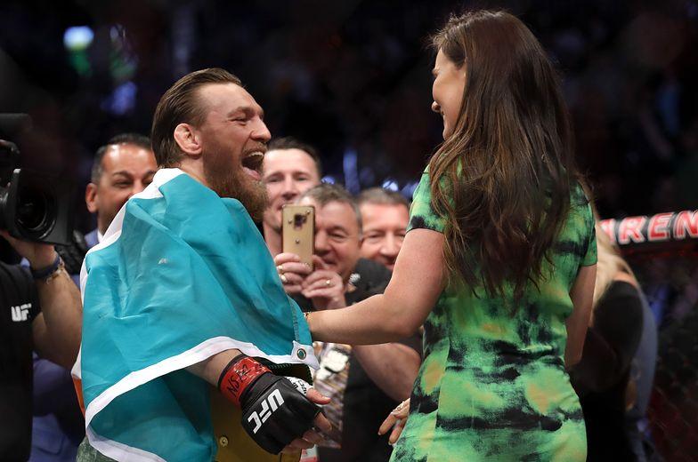 Conor McGregor się zaręczył. Kim jest wybranka gwiazdy MMA?