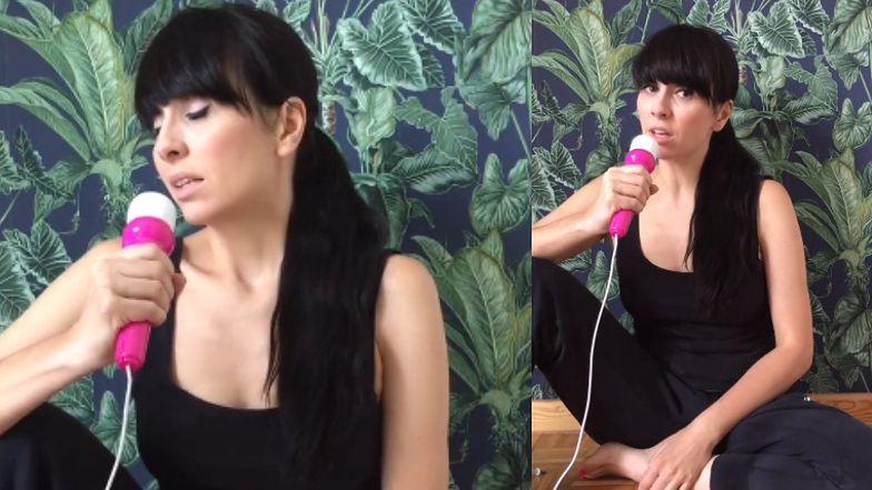 """Pomysłowa Tatiana Okupnik """"śpiewa o tabu"""": """"Nietrzymanie moczu nie jest fajne, stolca raczej chyba też"""""""
