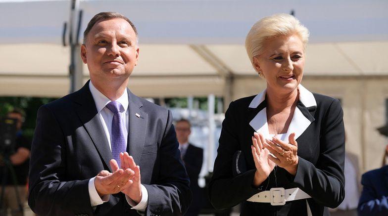 Agata Duda będzie dostawała MIESIĘCZNĄ PENSJĘ! Polski prezydent również dostał PODWYŻKĘ