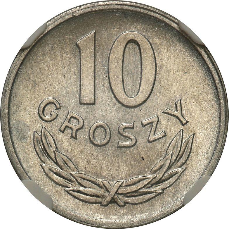 Masz taką w domu? 10-groszówka z PRL była warta 8 tys. zł. Dziś cena poszybowała
