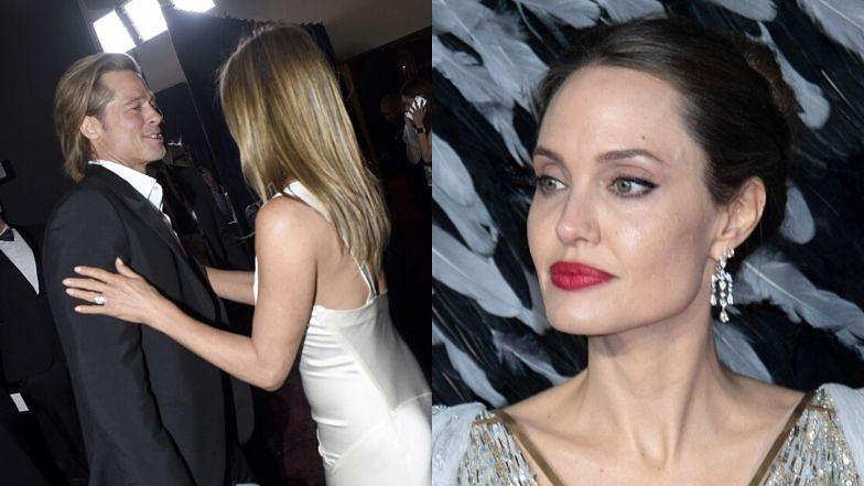 """Angelina Jolie cierpko o relacjach Brada i Jennifer: """"NIE OBCHODZI JEJ TO"""""""