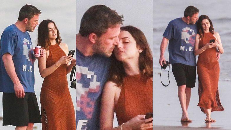 Wniebowzięty Ben Affleck i namiętna Ana de Armas przypieczętowują uczucie GORĄCYM POCAŁUNKIEM na kostarykańskiej plaży (ZDJĘCIA)