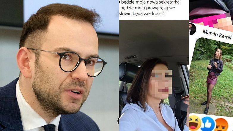 """Skandal na profilu posła PiS Marcina Kamila Duszka: """"Poznajcie tę ślicznotkę! Udowodniła już swój profesjonalizm..."""""""