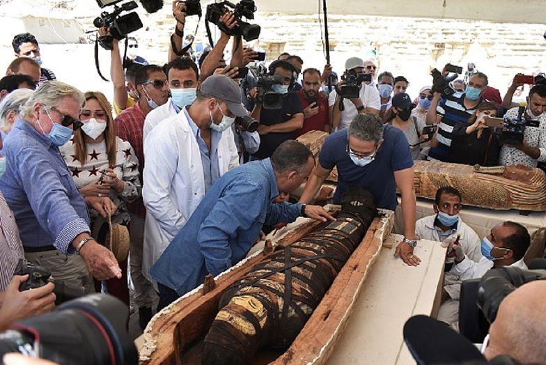 Sensacja w Sakkarze. Egipscy archeolodzy dokonali niesamowitego odkrycia
