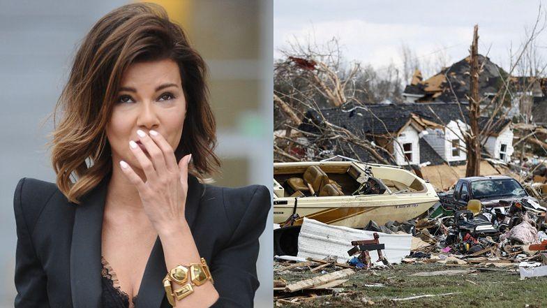 """Edyta Górniak W CENTRUM TORNADA?: """"Byłam i jestem nadal 1 milę od strefy zniszczeń"""""""