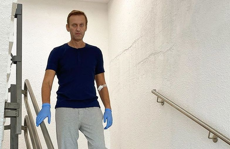 Aleksiej Nawalny opuścił klinikę w Berlinie. Spędził tam 32 dni