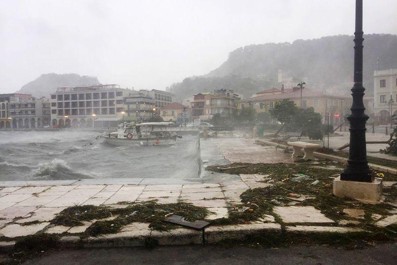 Lanos uderzył w Grecję z potężną siłą. Doszło do tragedii