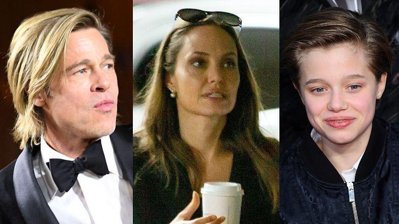 """Dzieci Angeliny i Brada wolą mieszkać z ojcem!? Shiloh jest """"zdesperowana, by uciec od matki"""""""