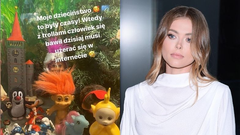 """Nostalgiczna Joanna Opozda wspomina dzieciństwo: """"Wtedy z TROLLAMI człowiek się bawił, dziś musi UŻERAĆ SIĘ W INTERNECIE"""" (FOTO)"""