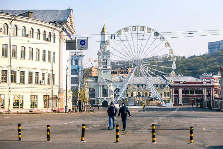 Koronawirus na Ukrainie. 2 razy mniej zarażonych niż w Polsce