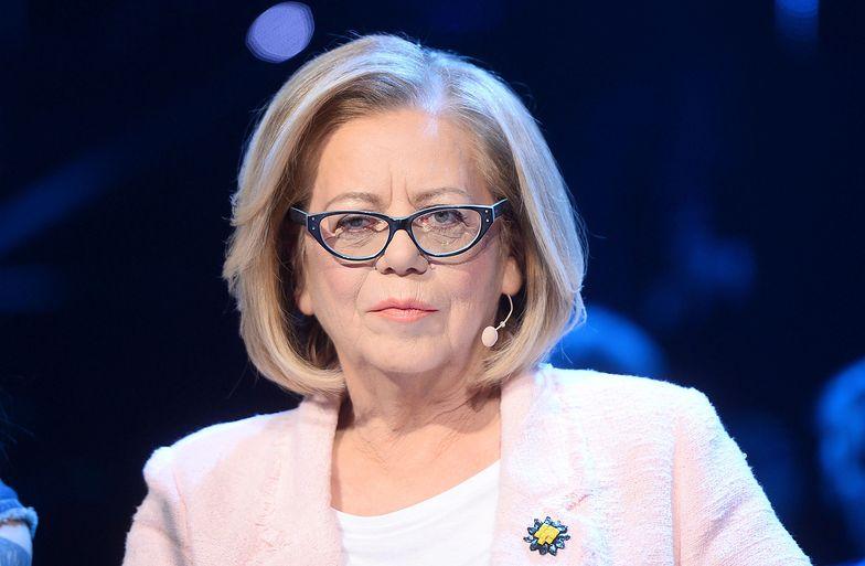Elżbieta Zapendowska ma coraz większe kłopoty ze wzrokiem. Sytuacja jest poważna