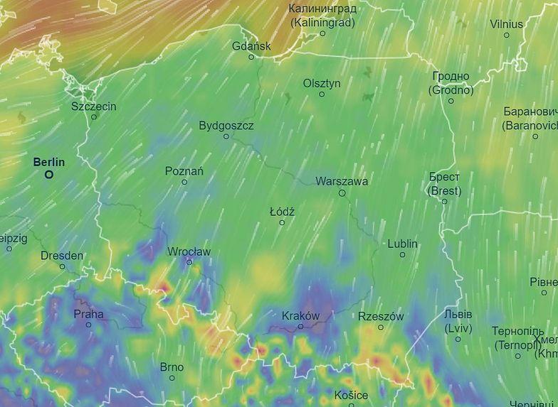 Alert IMGW. Uwaga na silny wiatr. W tych częściach Polski trzeba uważać