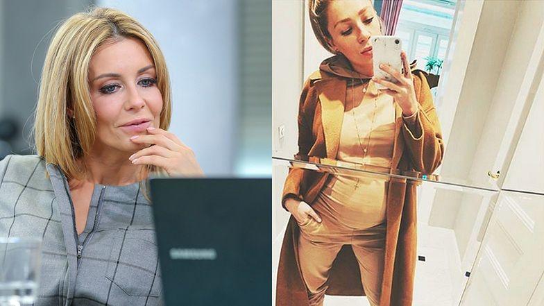 """Ciężarna Martyna Gliwińska eksponuje ciążowy brzuszek: """"Pani Beż"""" (FOTO)"""