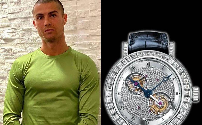 Kosmiczne pieniądze. Przeliczyliśmy cenę zegarka Ronaldo na złotówki
