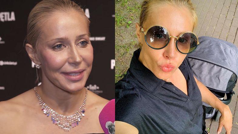 """Katarzyna Warnke zostanie piosenkarką? """"To muzyka taneczna, tekst jest PRZEJMUJĄCY"""""""