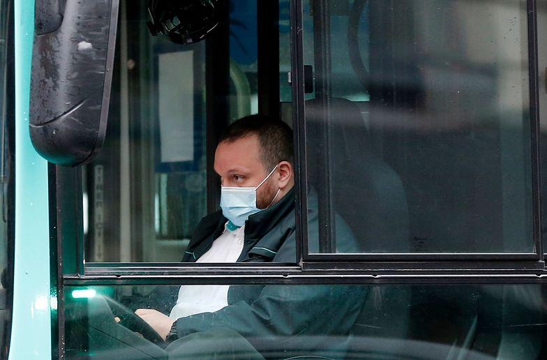 Zawód kierowcy należy do najbardziej narażonych na śmierć w wyniku zakażenia koronawirusem