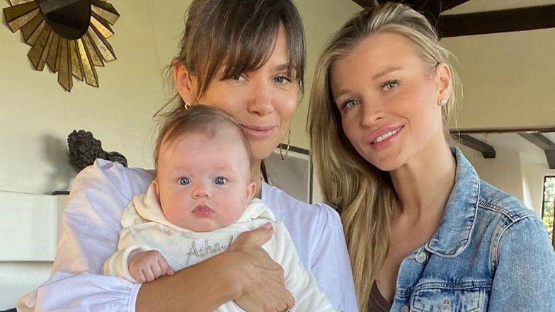 Joanna Krupa chwali się wspólnym zdjęciem z córką Ashą-Leigh i reporterką Kingą Rusin (FOTO)