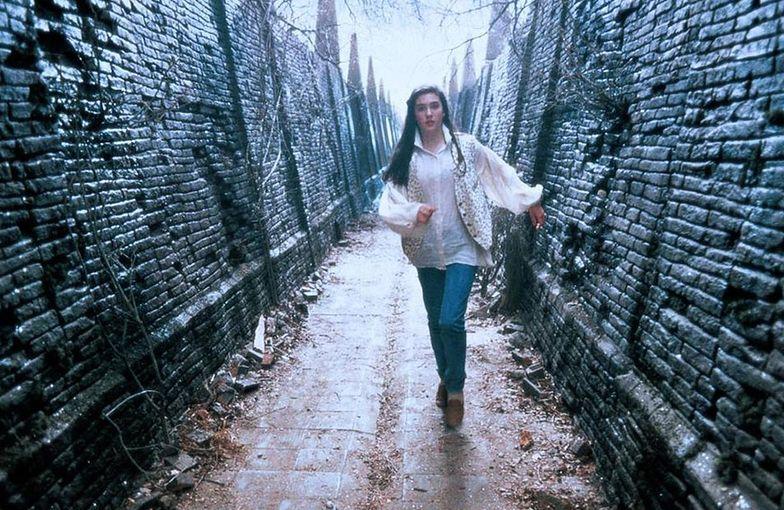 """Jennifer Connelly w filmie """"Labirynt"""" z 1986 roku"""