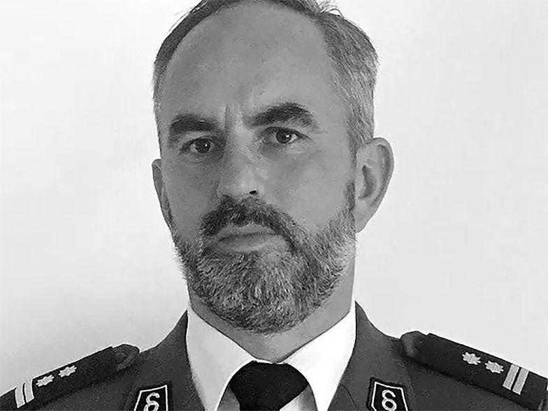 Nie żyje komendant policji. Miał 44 lata