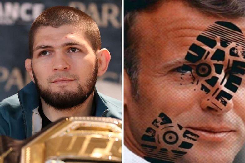 """Gwiazdor MMA atakuje prezydenta Francji. """"Niech Wszechmogący oszpeci twarz tej szumowiny"""""""