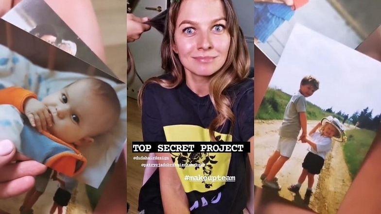 """Nostalgiczna Anna Lewandowska prezentuje zdjęcia z dzieciństwa na planie """"top secret projectu"""": """"Taki był ze mnie ANCYMON"""" (ZDJĘCIA)"""