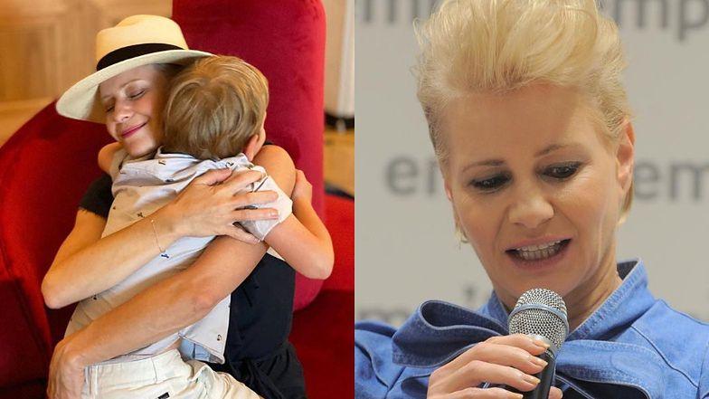 """Refleksyjna Małgorzata Kożuchowska otwiera się na temat macierzyństwa: """"Moja ciąża była trudna, MIAŁAM 2% SZANS"""""""
