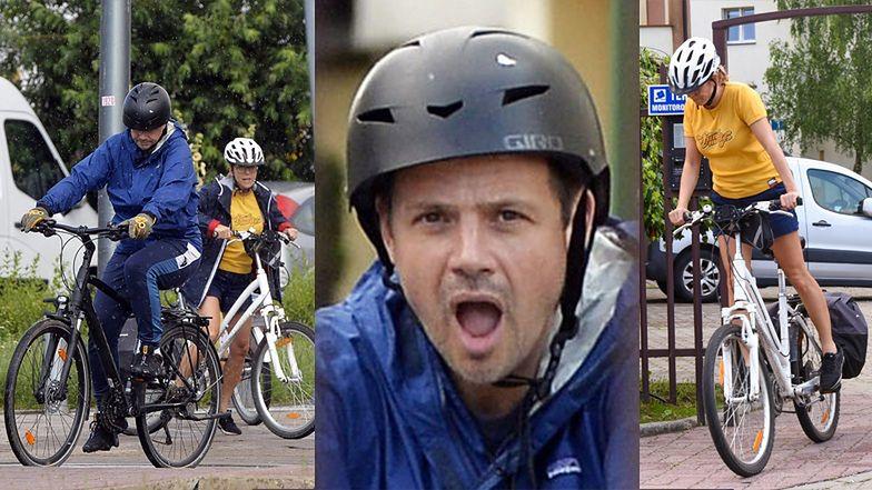 Rafał Trzaskowski z żoną Małgorzatą wybrali się na przejażdżkę rowerową (ZDJĘCIA)