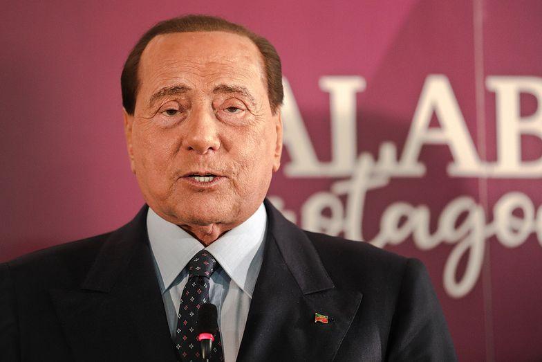 """Koronawirus. Silvio Berlusconi zakażony. Jest w """"delikatnym stadium"""""""