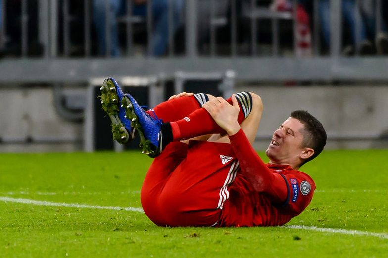 Robert Lewandowski z kontuzją nogi. Niepokojące wieści z Niemiec