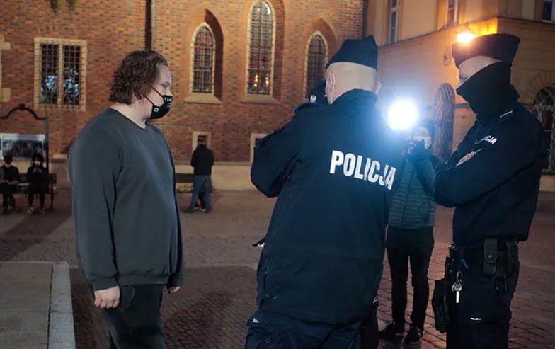 17-latek spisany przez policję. To siostrzeniec premiera Morawieckiego