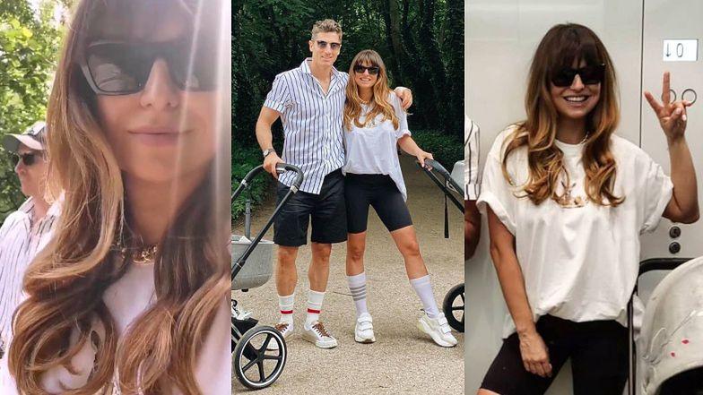 Robert i Anna Lewandowscy chwalą się rodzinnym spacerem w towarzystwie Klary i Laury (ZDJĘCIA)