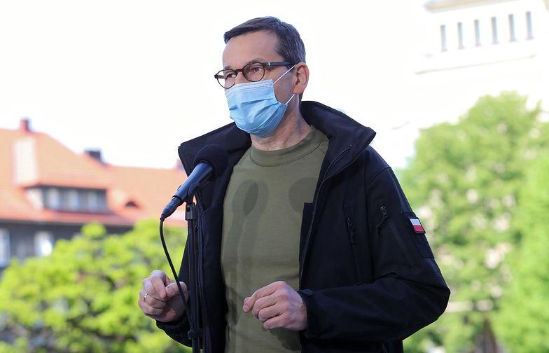 Premier Morawiecki zdementował plotki o zamknięciu Śląska