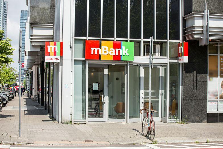 Zyski mBanku niższe o 70 procent. Przeciw bankowi prawie 6,5 tys. spraw sądowych