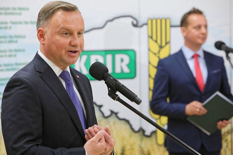 Wybory 2020. Debata prezydencka w TVN. Andrzej Duda zajął stanowisko