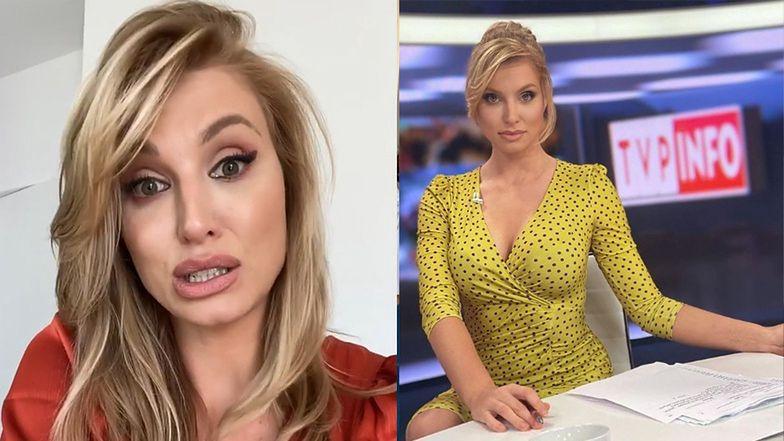 """Dziennikarka TVP Info znów tłumaczy się z wyglądu i grzmi: """"Kobiety W MEDIACH za bardzo próbują upodobnić się do MĘŻCZYZN"""""""