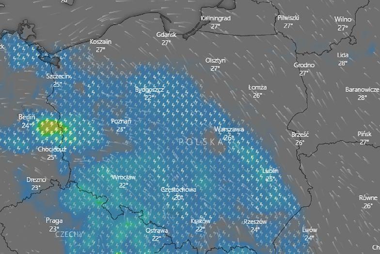 Gdzie jest burza? IMGW wydało ostrzeżenia dla sporej części Polski